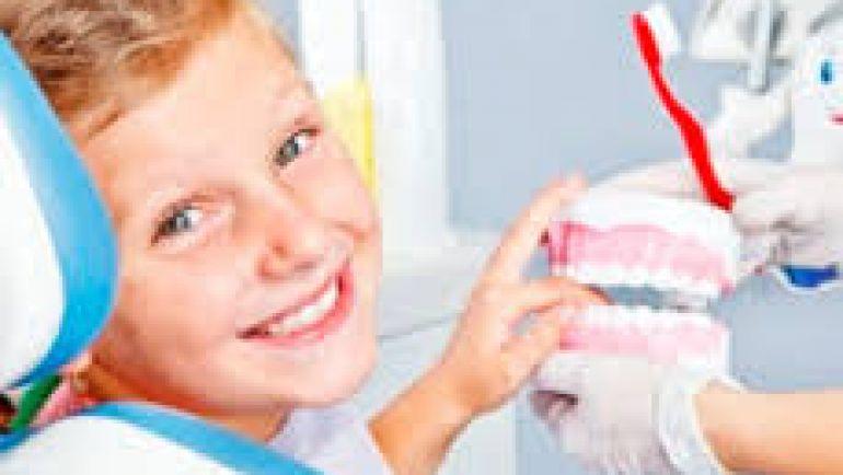 Los niños y la odontología